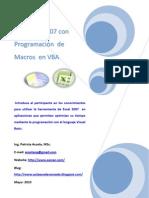 Programar en Excel VBA Application 2010
