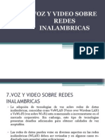 Voz y Video Sobre Redes Inalambricas