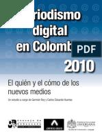 Periodismo digital en Colombia 2010