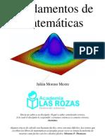 FUNDAMENTOS DE MATEMÁTICAS JULIÁN MORENO MESTRE