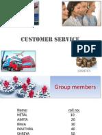 Customer Service Final