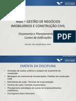 02 Slides FGV Orçamento e Planejamento de Custos