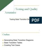 Testing State Transition Diagrams  (via www.ccse.kfupm.edu.sa)
