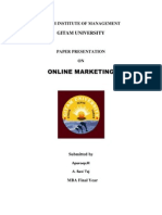 E-Marketting Paper Presentation