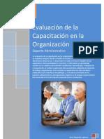 Evaluación de la Capacitación en la Organización