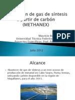 Producción de gas de síntesis a partir de carbón (METHANEX) (1)