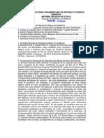 Informe Uruguay 27-2012