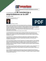 LERA2. Incubación de conciencias y emprendedores en la UAT. 4.9.12