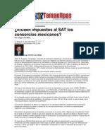 LERA2. Eluden Impuestos Al SAT Los Consorcios Mexicanos. 5..9.12