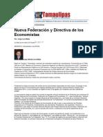 LERA2. Nueva Federación y Directiva de los Economistas- 8-9.9.12
