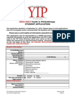 yip-student-application