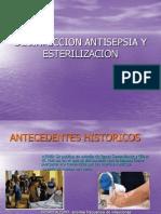 Desinfeccion Antisepsia y Esterilizacion