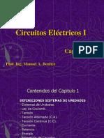 Circuito Electrico, sistemas de Unidades