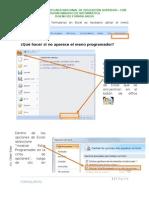 Formularios en Excel 2007