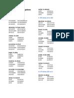 Spanish Verb Conjugations (Preterit)