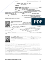 Civil War Notes - Important People and Events.pdf