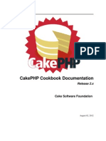 Cake Php Cookbook 2.0
