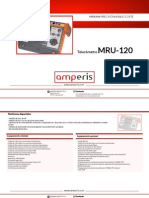 Telurometro digital -MRU120