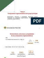 Tema 1.5 Compuestos Organometálicos