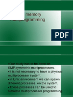 Shared Memory Multiprogramming