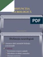 DISF NEUROLOGICA