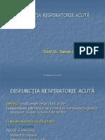 Disfunctia respiratorie