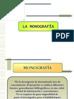 LA MONOGRAFÍA (IMPORTANTE)