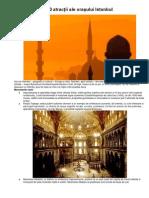 10 atracţii ale oraşului Istanbul