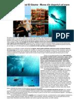 Egipt - Paradisul El Gouna - Marea din deşertul cel mare