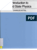 Kittel, Charles - Introduction to Solid State Physics 8Th Edition