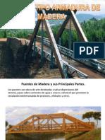 Puentes Tipo Armadura de Madera