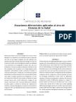 Ecuaciones Diferenciales Aplicadas a Ciencias de La Salud.