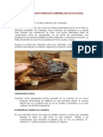 Mermelada de Platano