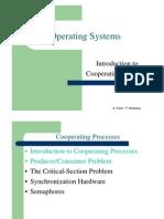מערכות הפעלה- הרצאה 4 יחידה א | Cooperating Processes