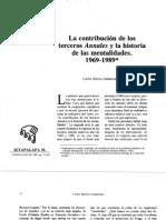 C.Barros_Contribucion de Los Terceros Annales y La Historia de Las Mentalidades