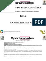 CRITERIOS DE ATENCION MÉDICA EDA
