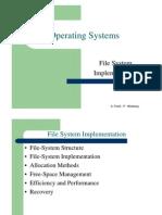 מערכות הפעלה- הרצאה 10 יחידה ב | Disk