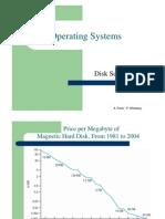 מערכות הפעלה- הרצאה 10 יחידה ג | Disk