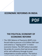Unit 2 Economic Reform in India