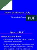 Sulfuro de Hidrogeno H2S