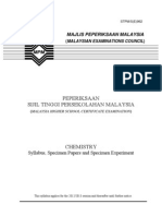 962 SP Chemistry