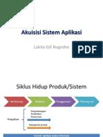 7-Akuisisi Sistem Aplikasi