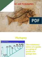 Phylogeny & Systematics