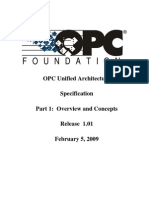 OPC UA Part 1 - Overview and Concepts 1.01 Specification