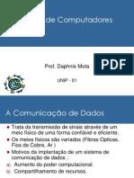 01 - Redes de Dados e Telecom - Daphnis Mota