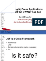 JSF  Th19 Owasp Updated