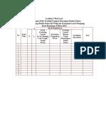 Lampiran 1+2 - Observasi Dan Kuesioner - Angka Kontaminasi Kapang Dan Faktor-faktor Yang Mempengaruhi Pada Dodol Zebra Yang Dijual Di Wilayah Terminal Leuwi Panjang  Kota Bandung Tahun 2012
