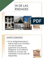Origen de Las Universidades19