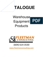 Loading Dock Equipment Catalogue
