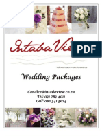 In Tab a Wedding Packages